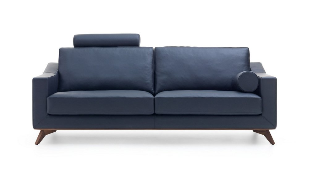 ANTONIA ADORE LEATHER SOFA BY LEOLUX DESIGN HUGO DE RUITER
