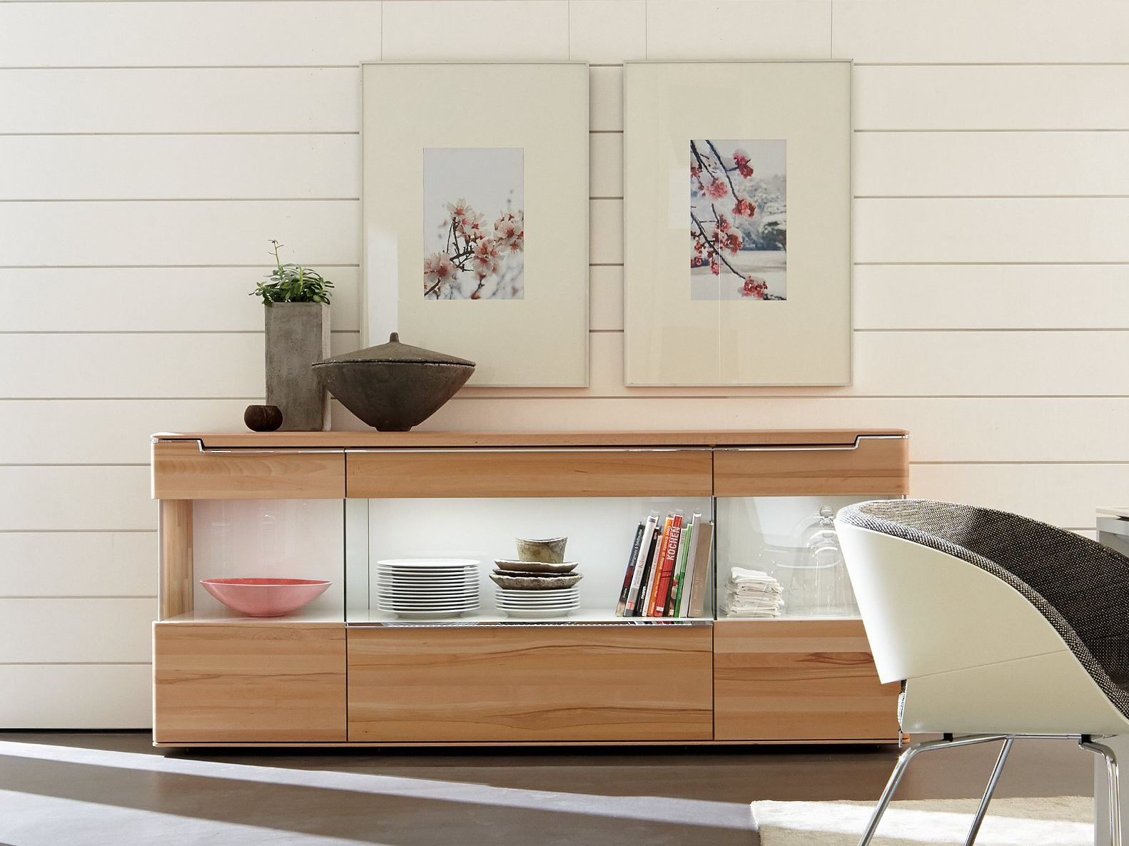 vedua sideboard by h lsta werke h ls. Black Bedroom Furniture Sets. Home Design Ideas