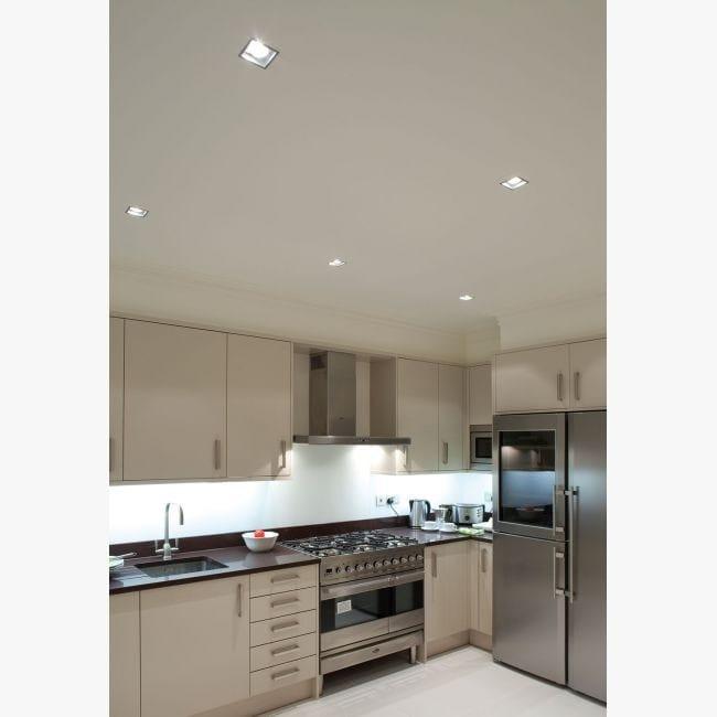 Spot Led Pour Plafond Encastrable Carree Sc Ok 3033 S1 By
