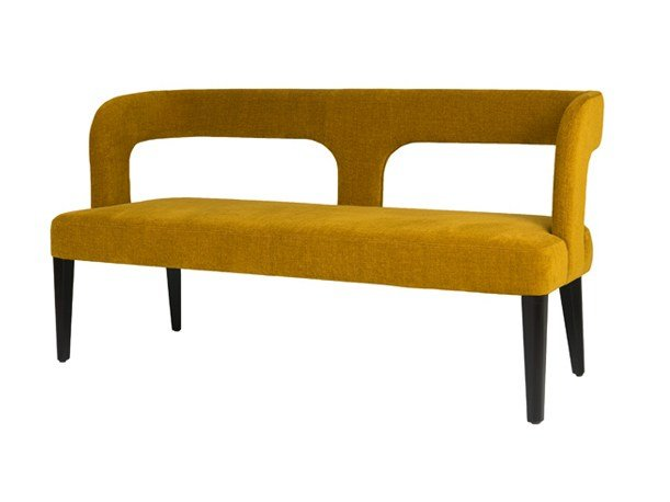 Upholstered Bench With Back Penelope By Hamilton Conte Paris