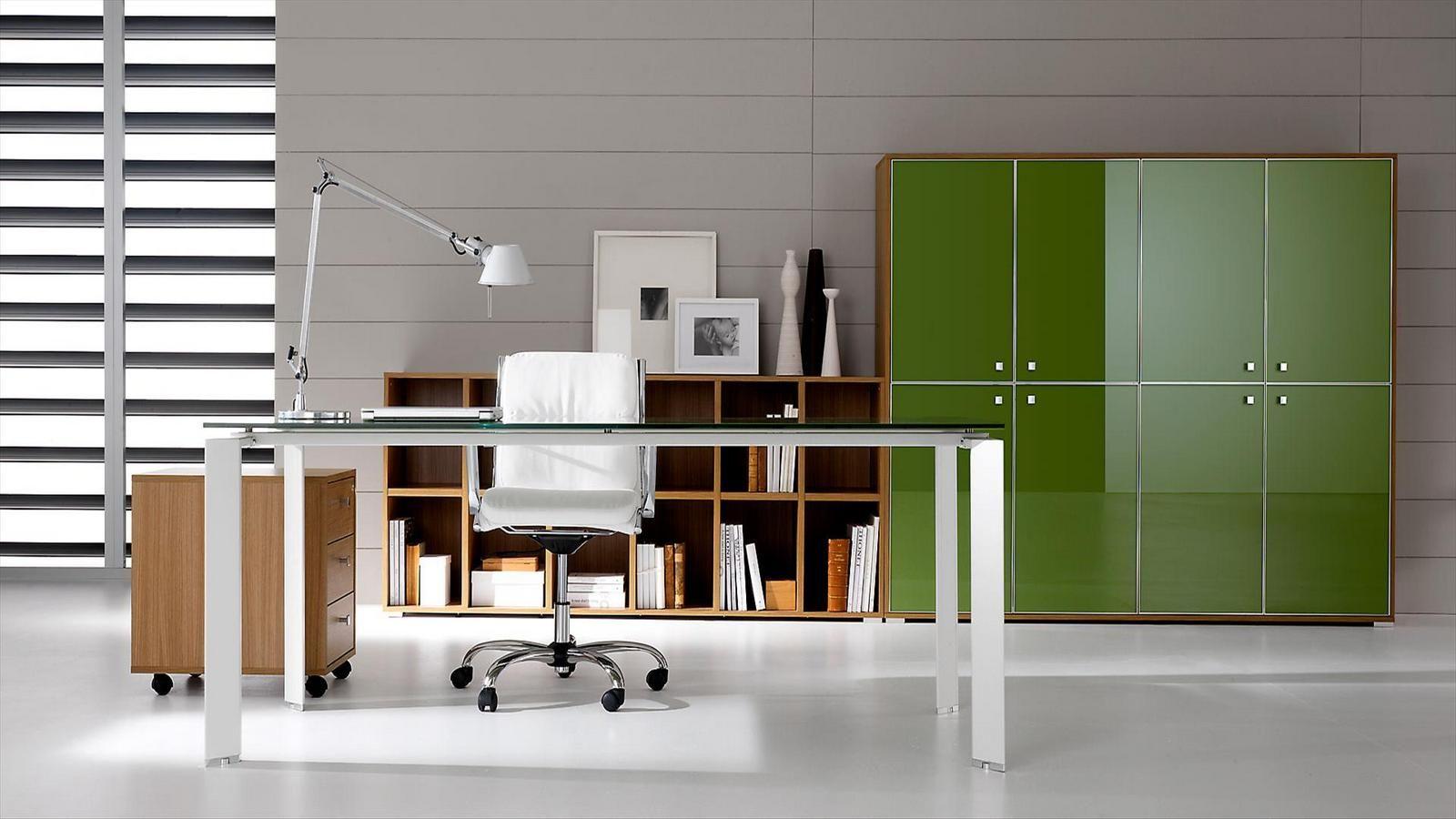 pratiko mobile ufficio in vetro by ift design nikolas