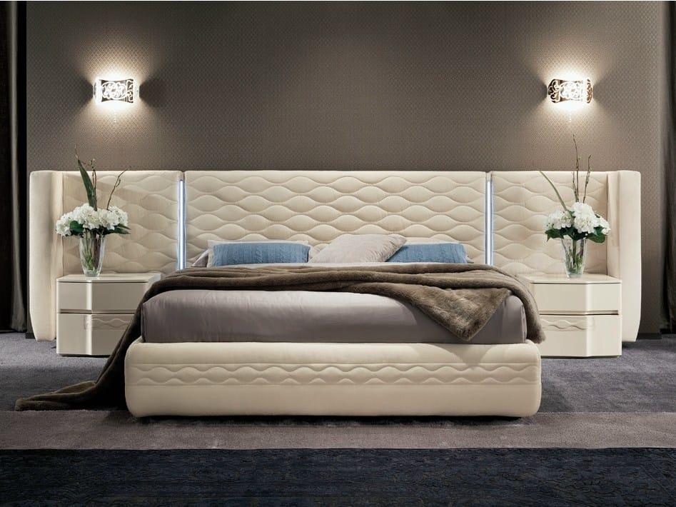 Chanel bed by dall agnese design studio arbet - Testate letto imbottite classiche ...