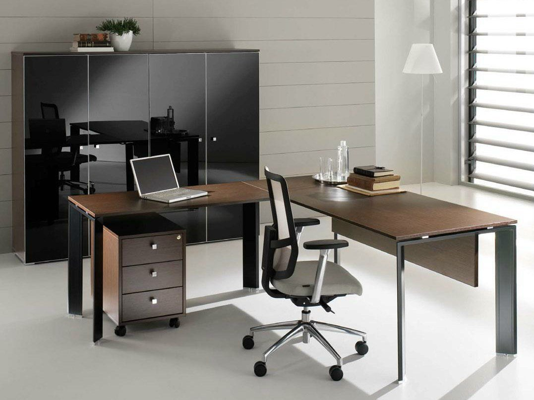 Cowork l shaped office desk by ift for Muebles de oficina 3d model