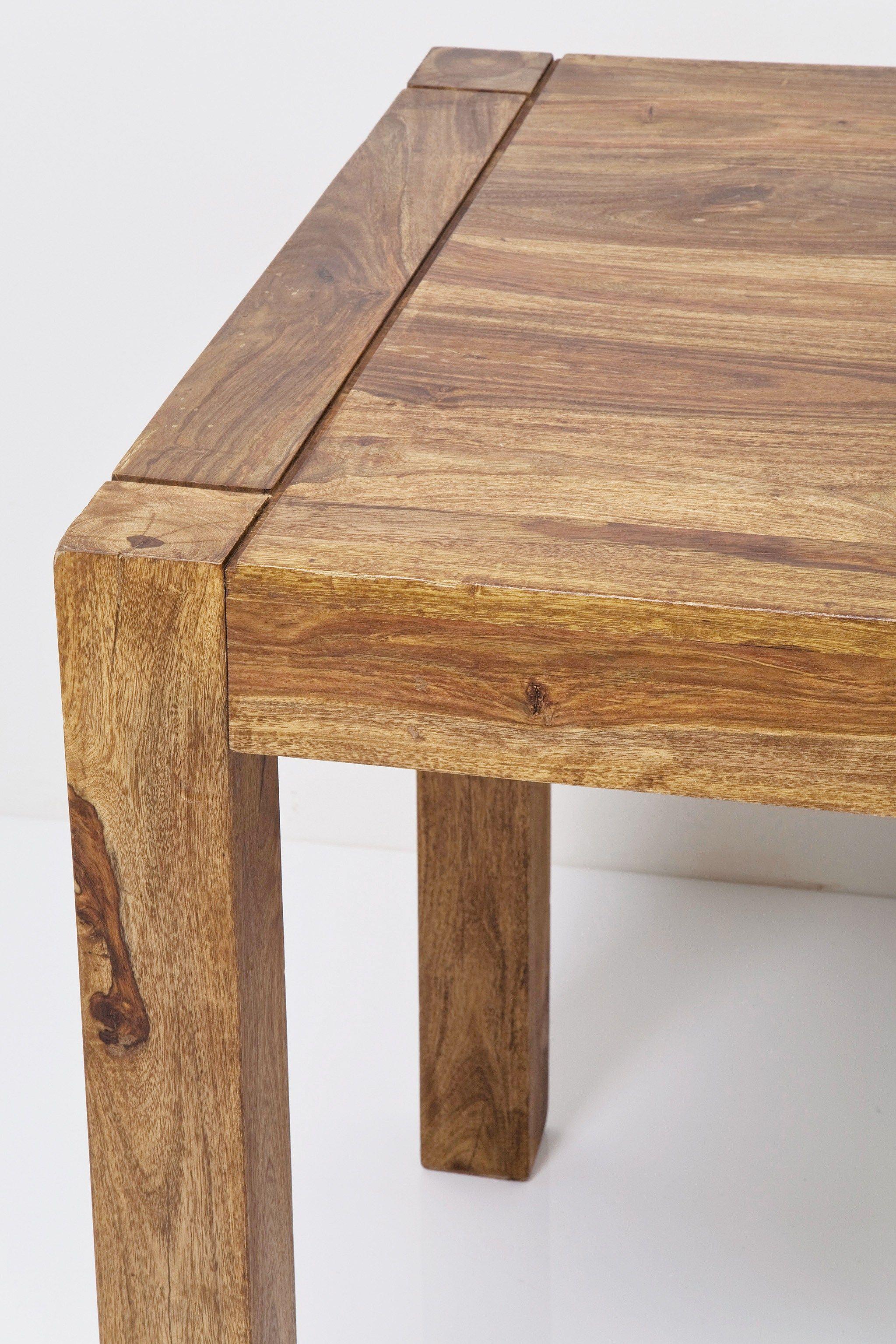 Authentico mesa cuadrada by kare design for Mesas cuadradas de madera