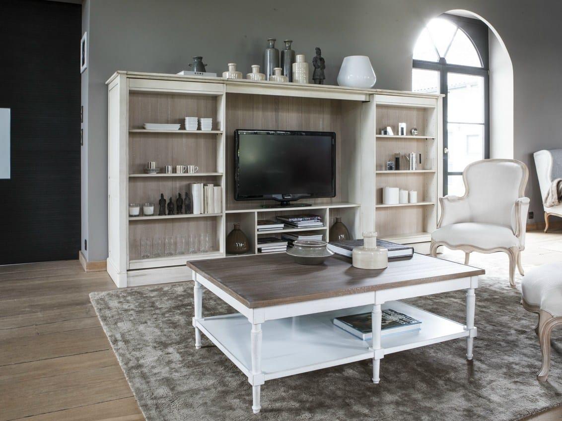modulables bookcase by grange. Black Bedroom Furniture Sets. Home Design Ideas