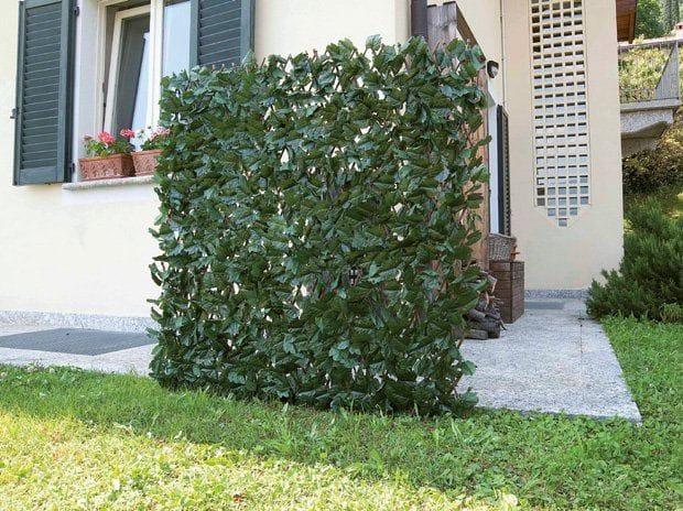 Biombo exterior para jardin cerca de madera para jardn - Biombos para exteriores ...