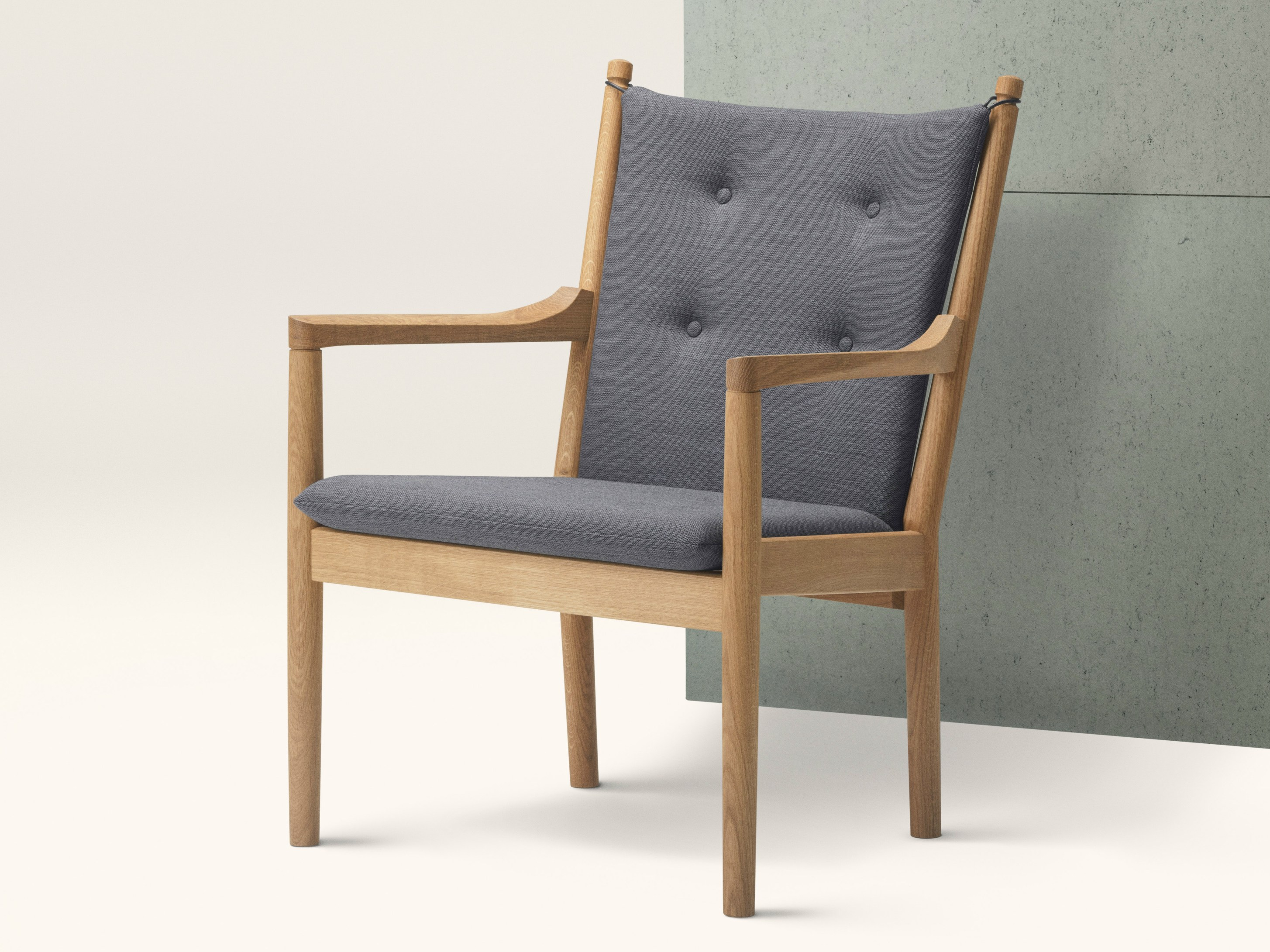 Wooden easy chair designs - 1788 Easy Chair By Fredericia Furniture Design Hans J Wegner B Rge Mogensen
