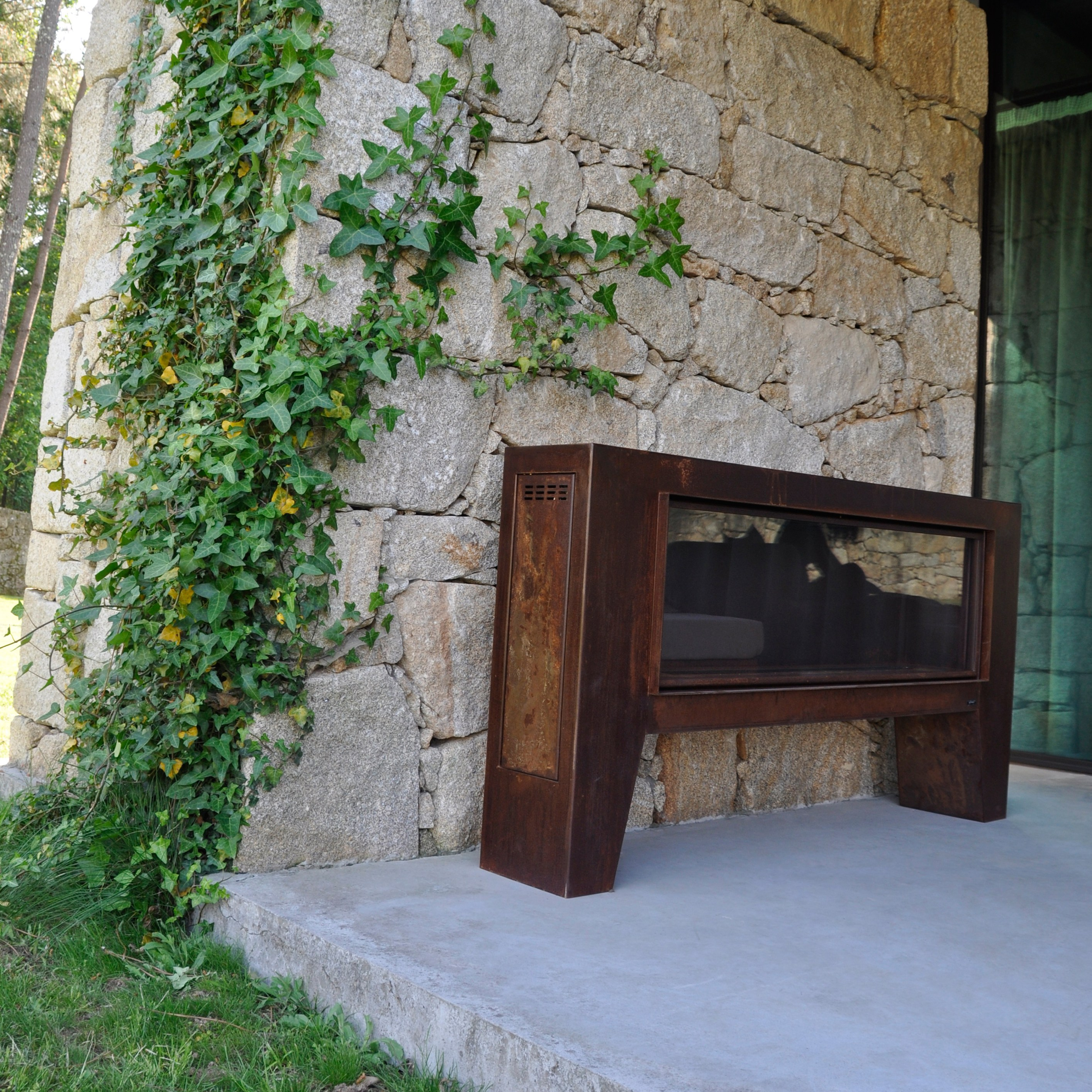 chimenea exterior