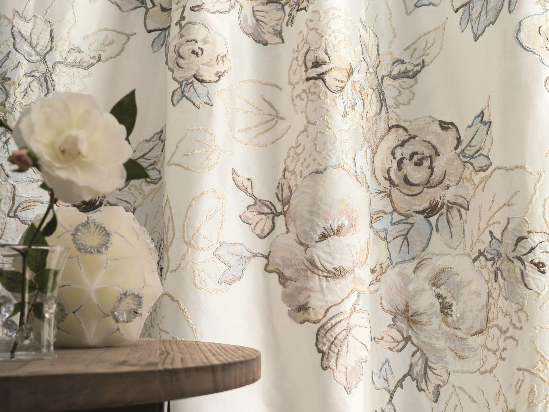Tessuti floreali per tende sanotint light tabella colori - Tende abbinate al copriletto ...