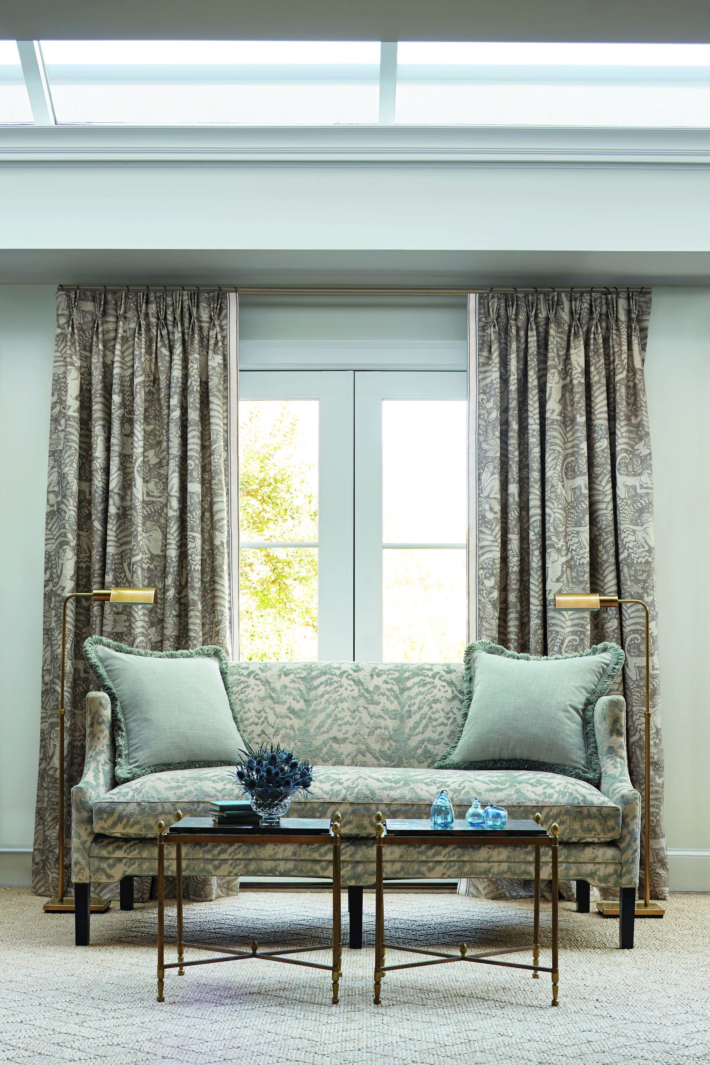 tessuto stampato per tende samango by zimmer rohde. Black Bedroom Furniture Sets. Home Design Ideas