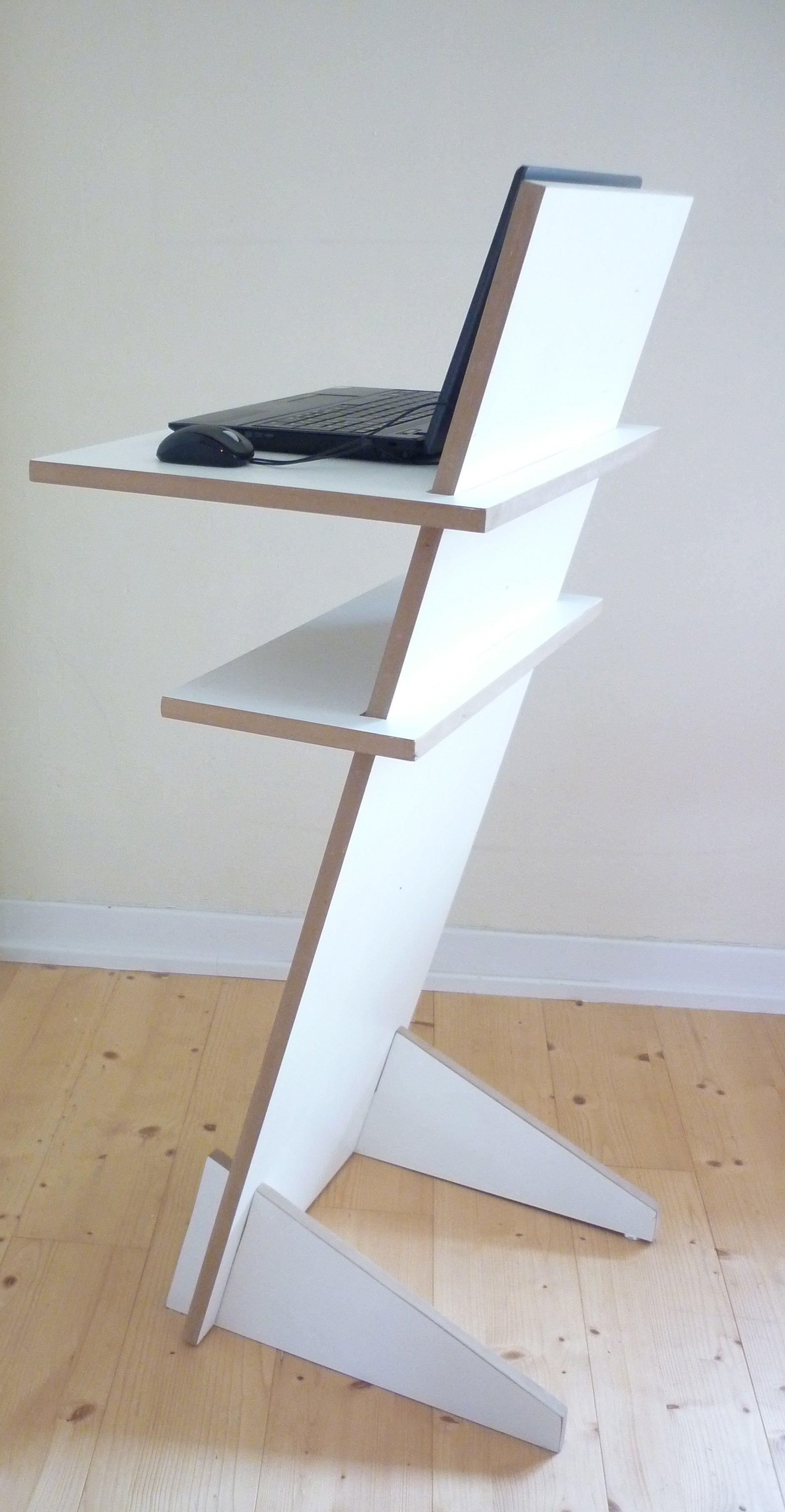 lacquered computer cabinet pult by tojo m bel design. Black Bedroom Furniture Sets. Home Design Ideas