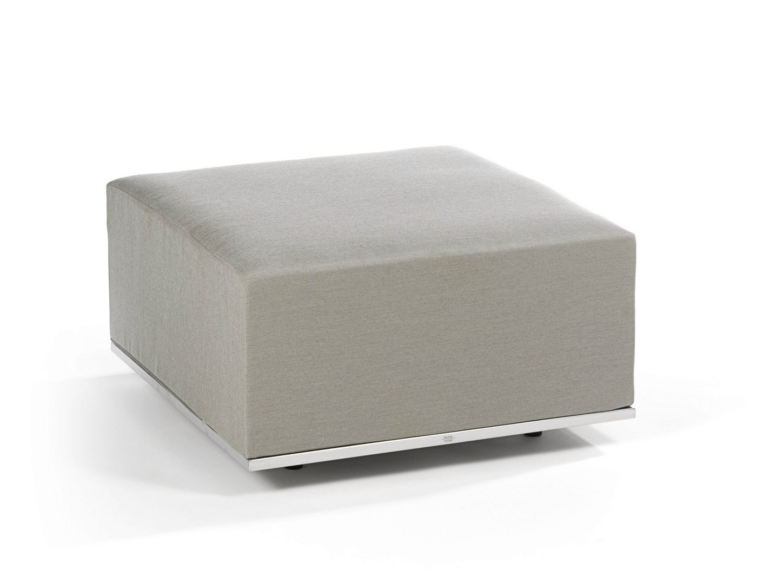 pouf de jardin rembourr en tissu collection suite by fischer m bel. Black Bedroom Furniture Sets. Home Design Ideas