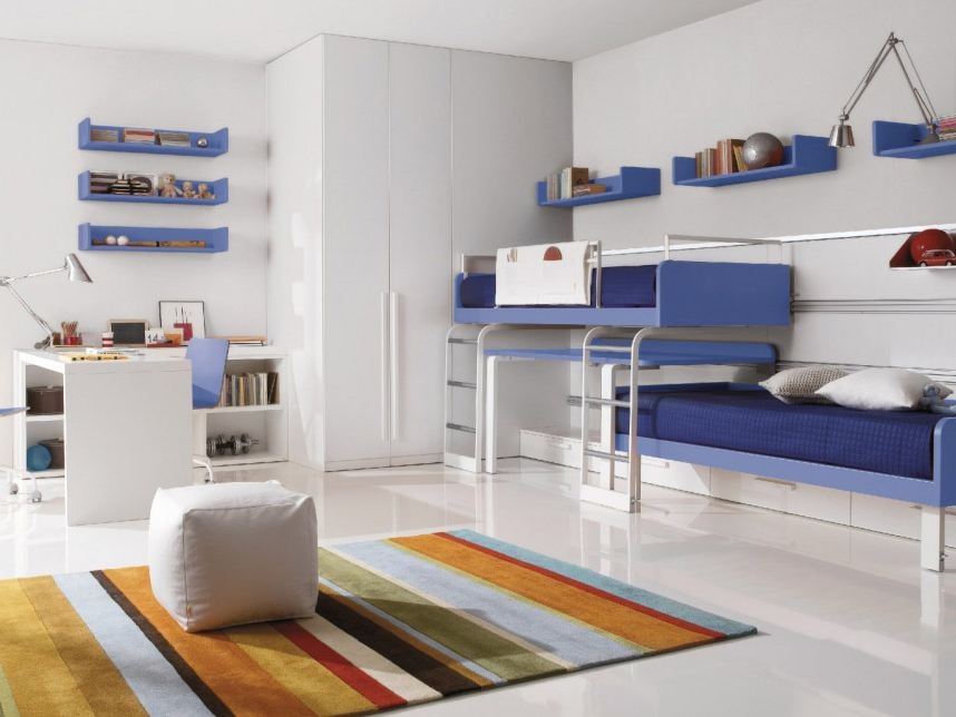 Schlafzimmer mit etagenbett f r jugendliche z86 by zalf for Jugendliche schlafzimmer