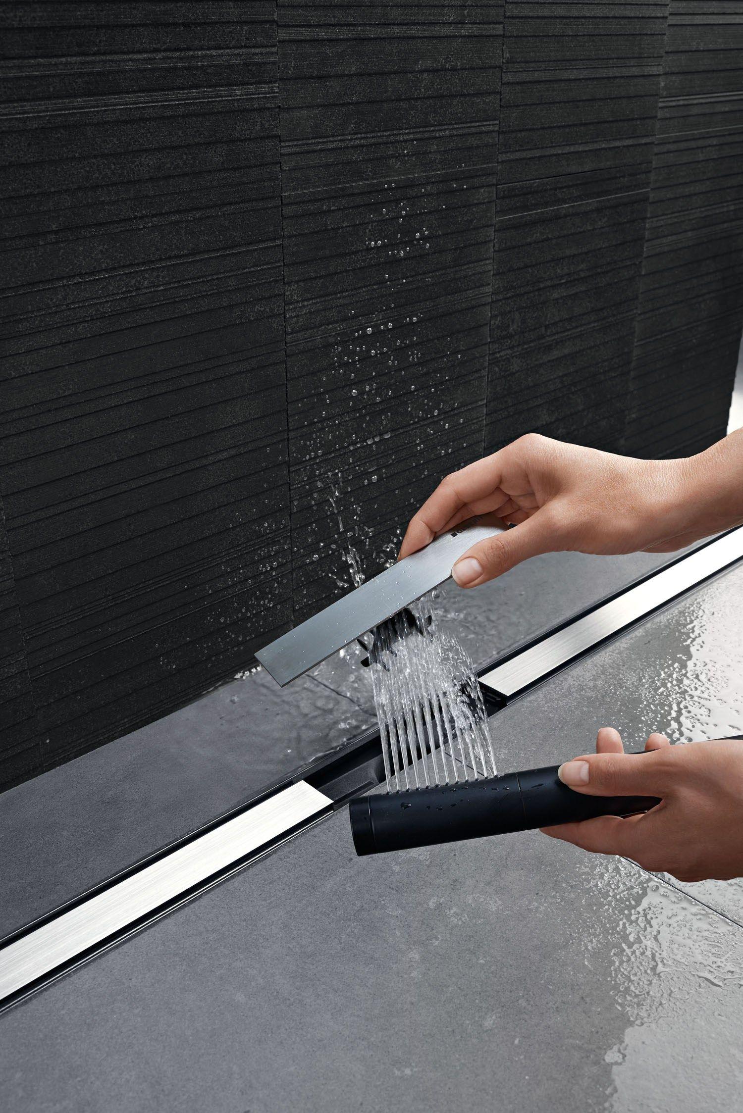 Scarico per doccia in acciaio cleanline by geberit italia for Geberit italia