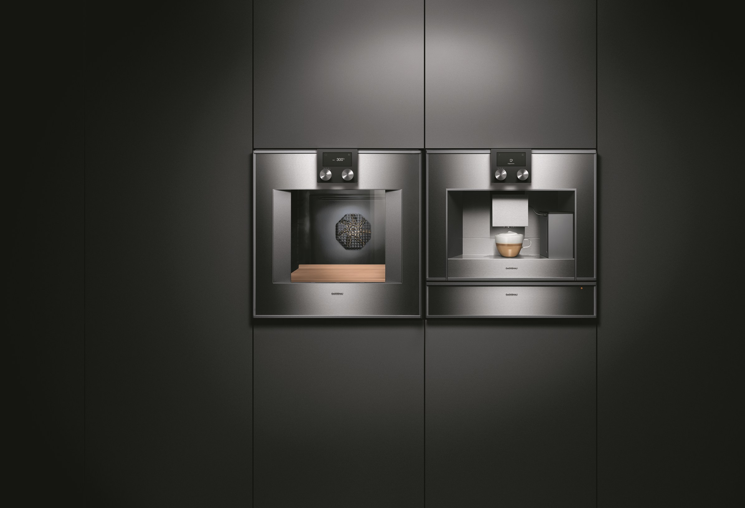 forno da incasso bo 470 bo 471 collezione 400 by gaggenau. Black Bedroom Furniture Sets. Home Design Ideas