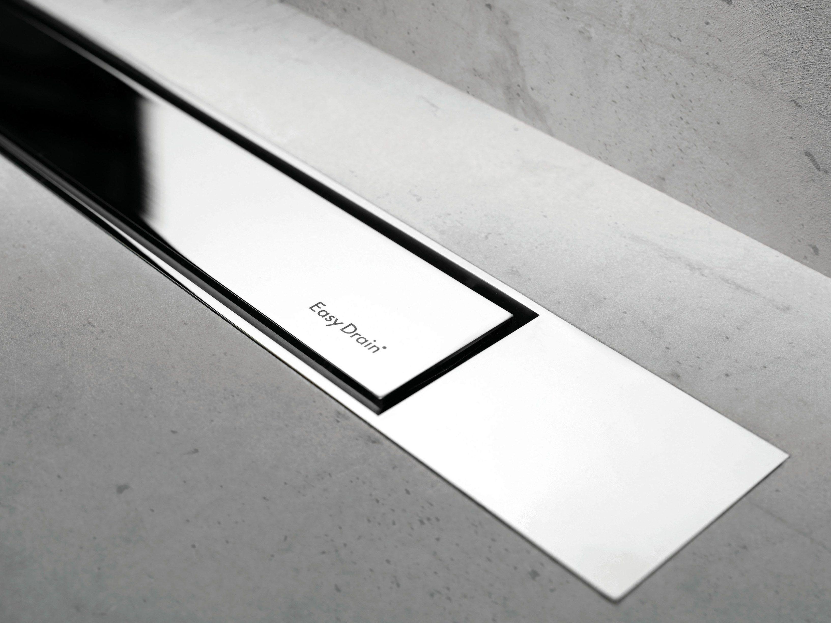 scarico per doccia modulo design z 2 lucido lucido by ess easy drain. Black Bedroom Furniture Sets. Home Design Ideas