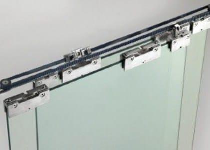 rail pour portes coulissantes en m tal t lescopique sincro v 2200 by metalglas bonomi. Black Bedroom Furniture Sets. Home Design Ideas