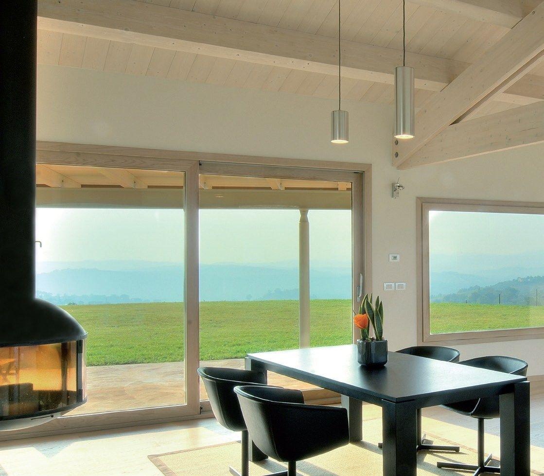 Porta finestra alzante scorrevole by agostinigroup - Porta finestra in legno ...
