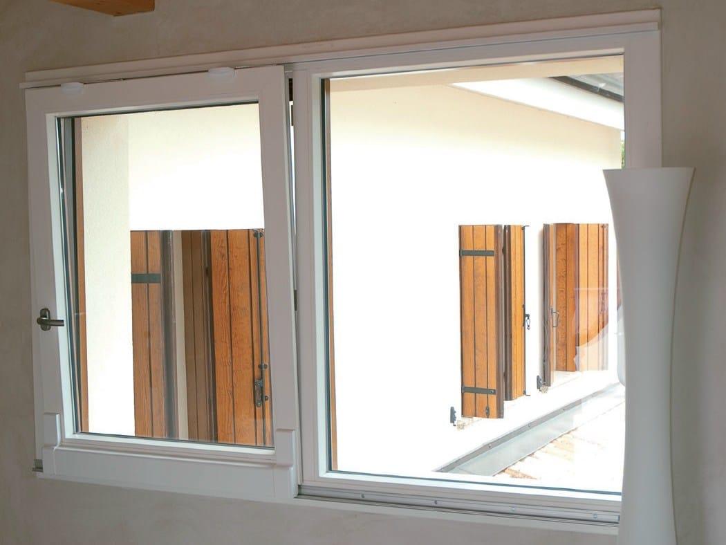 Finestra scorrevole traslante in pvc finestra scorrevole for Infissi finestre