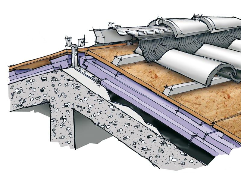 Pannelli isolanti per coperture ventilate ALGOPAN VENTILATO USD - XL ...