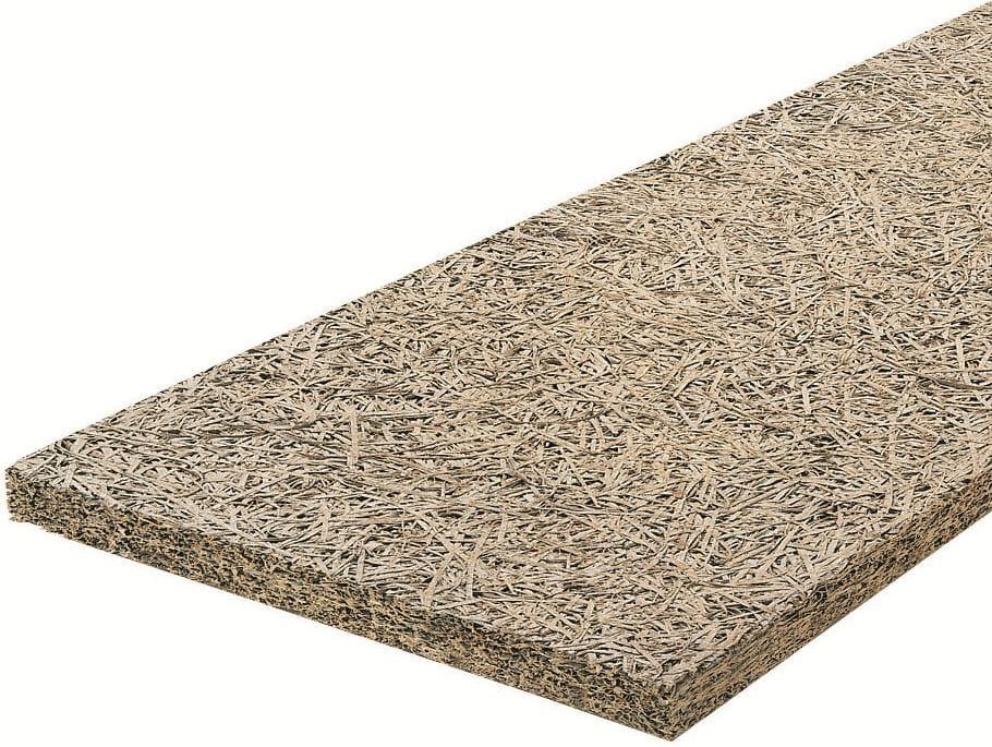 Panel aislante t rmico de lana de madera mineralizada - Lana de roca aislante termico ...