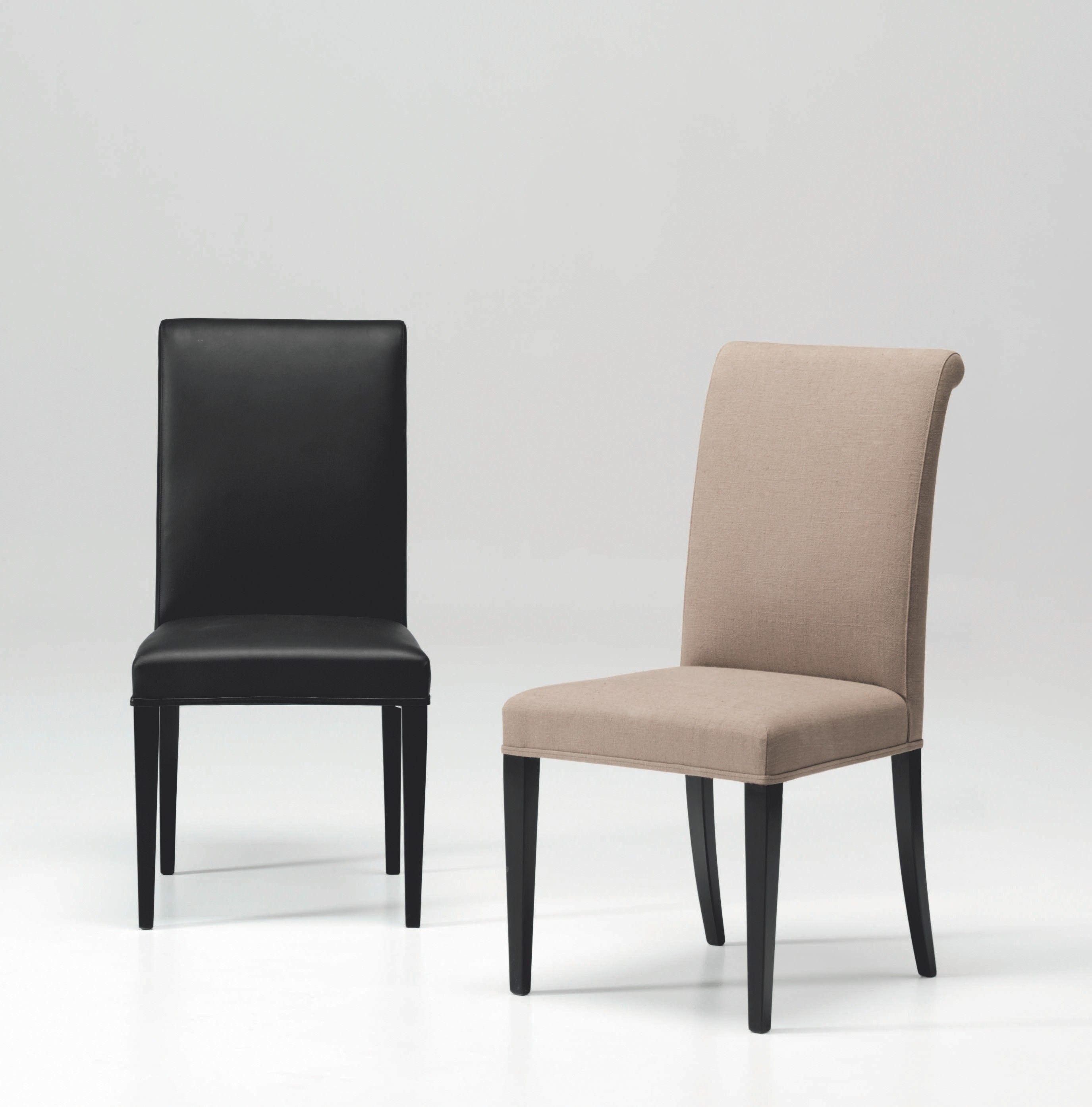 chaise rembourr e en cuir k10497b by l 39 origine home elegans. Black Bedroom Furniture Sets. Home Design Ideas