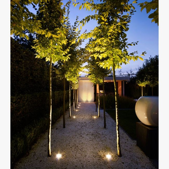 Illuminazione da incasso a LED a pavimento LOGIC S 3011 by Delta Light