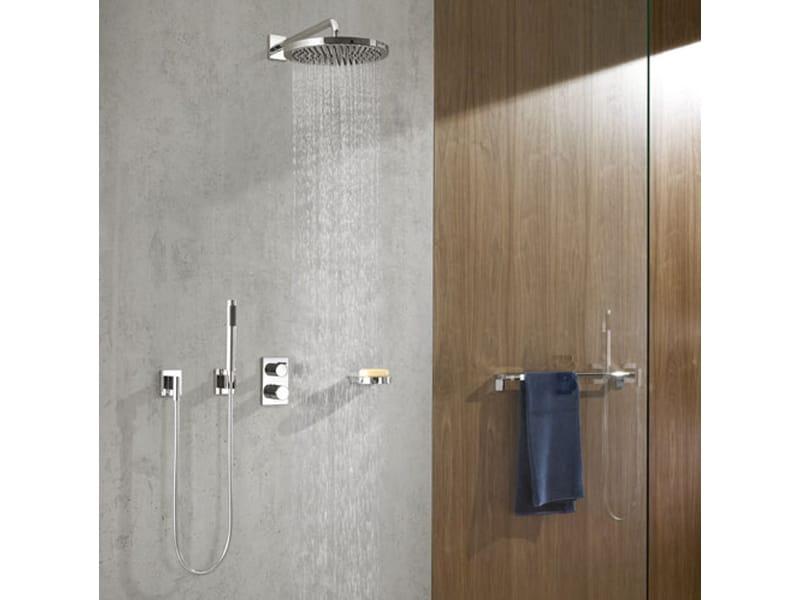 28 579 670 overhead shower by dornbracht design sieger design. Black Bedroom Furniture Sets. Home Design Ideas