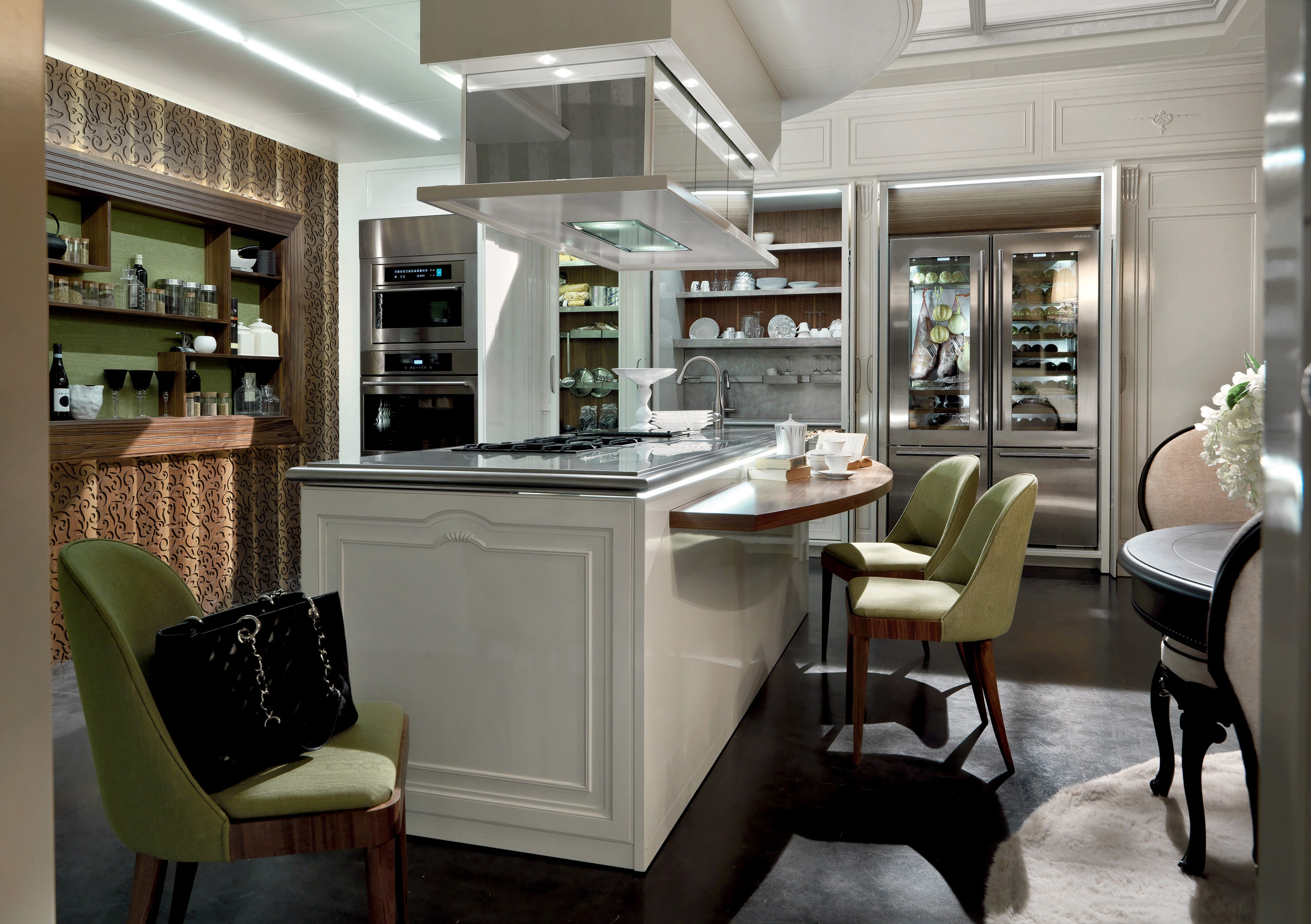 Cucine con isola e tavolo: ristrutturazioni case : un isola in ...