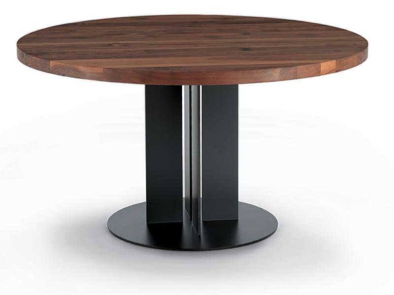 Natura Table Ronde By Riva 1920 Design Maurizio Riva