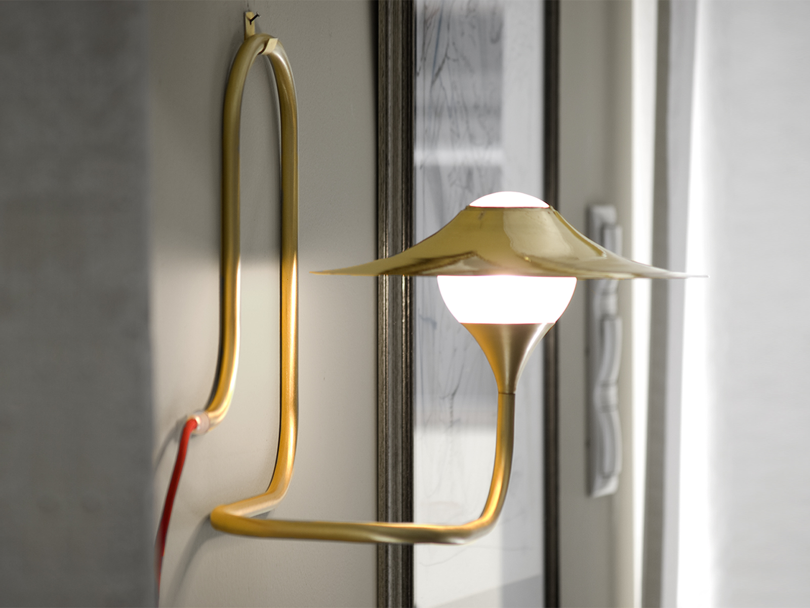 Wall Lamps Copper : TURBAYA Copper wall lamp by Intueri Light