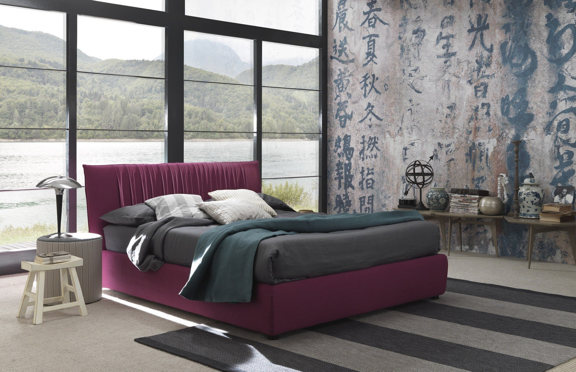 lovely bett by bolzan letti. Black Bedroom Furniture Sets. Home Design Ideas