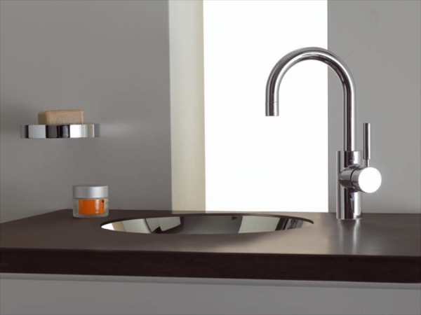 tara logic washbasin mixer by dornbracht design sieger design. Black Bedroom Furniture Sets. Home Design Ideas