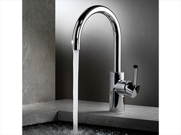 tara logic washbasin mixer by dornbracht design sieger design. Black Bedroom Furniture Sets. Home Design Ideas