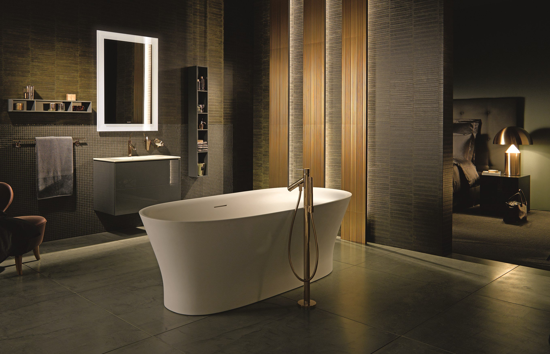 Vasca da bagno centro stanza ovale collezione me by duravit italia design philippe starck - Vasca da bagno duravit ...