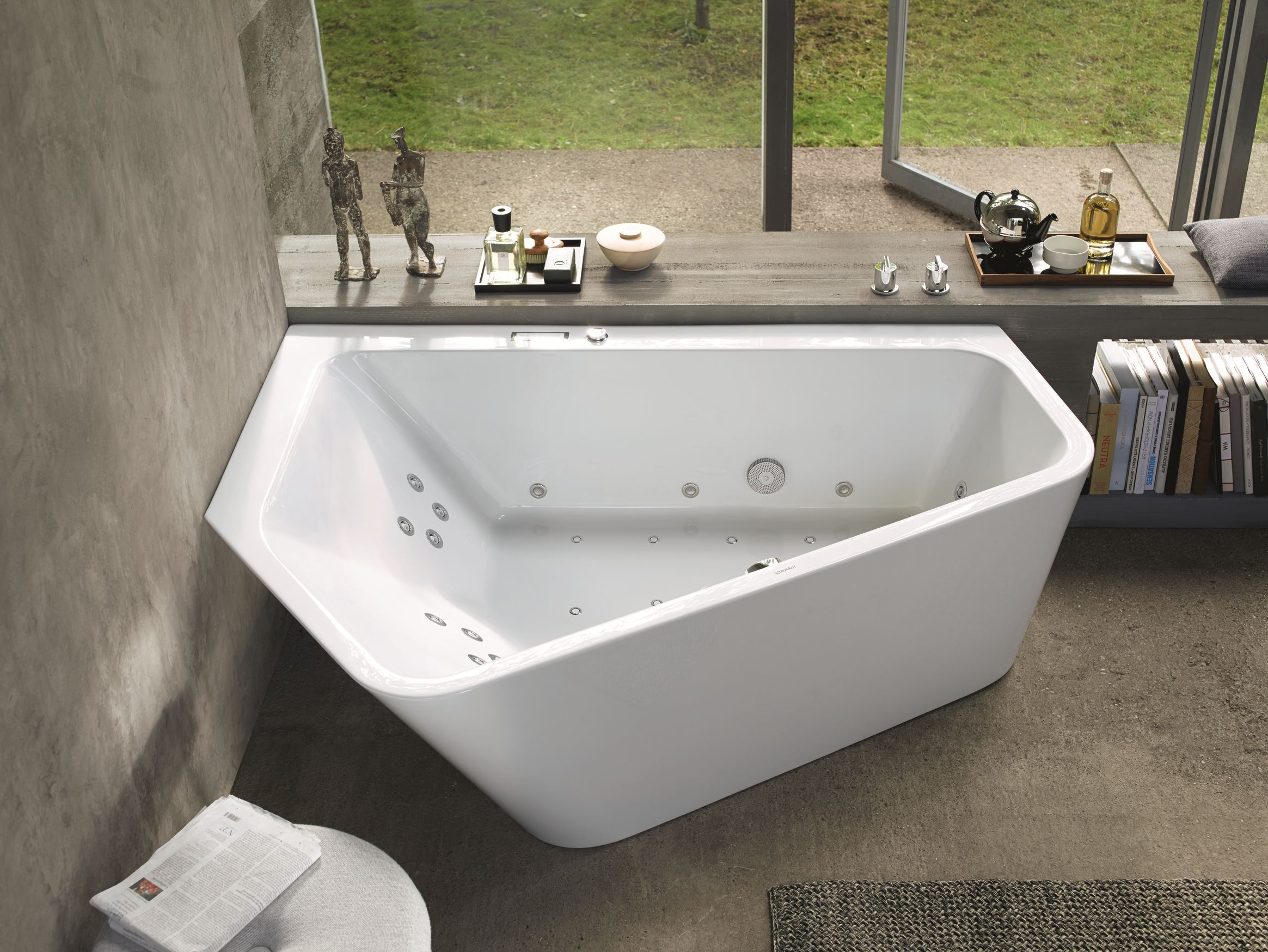 Paiova 5 badewanne by duravit design eoos for Badewanne design
