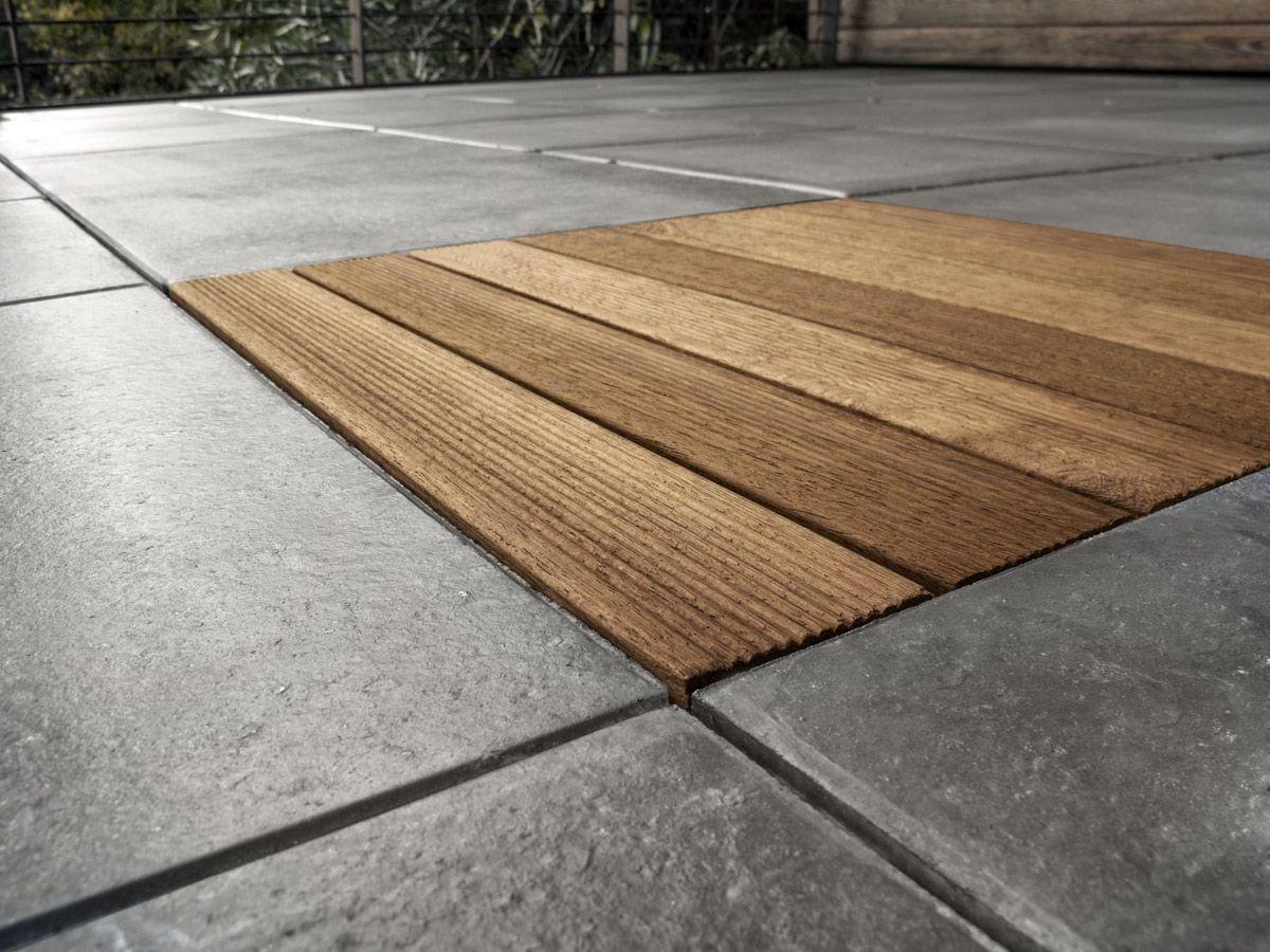 wooden outdoor floor tiles gli speciali wood by favaro1. Black Bedroom Furniture Sets. Home Design Ideas