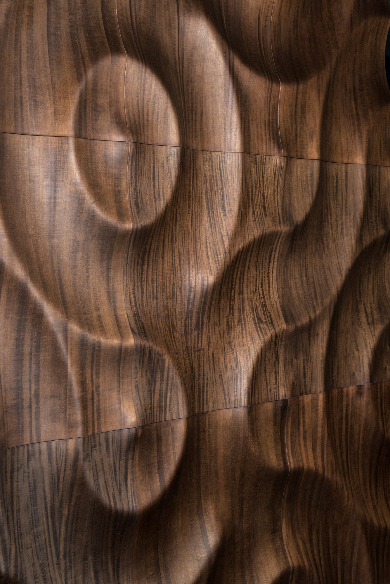 Modular wooden 3d wall panel amazonas by moko for 3d wood wallpaper