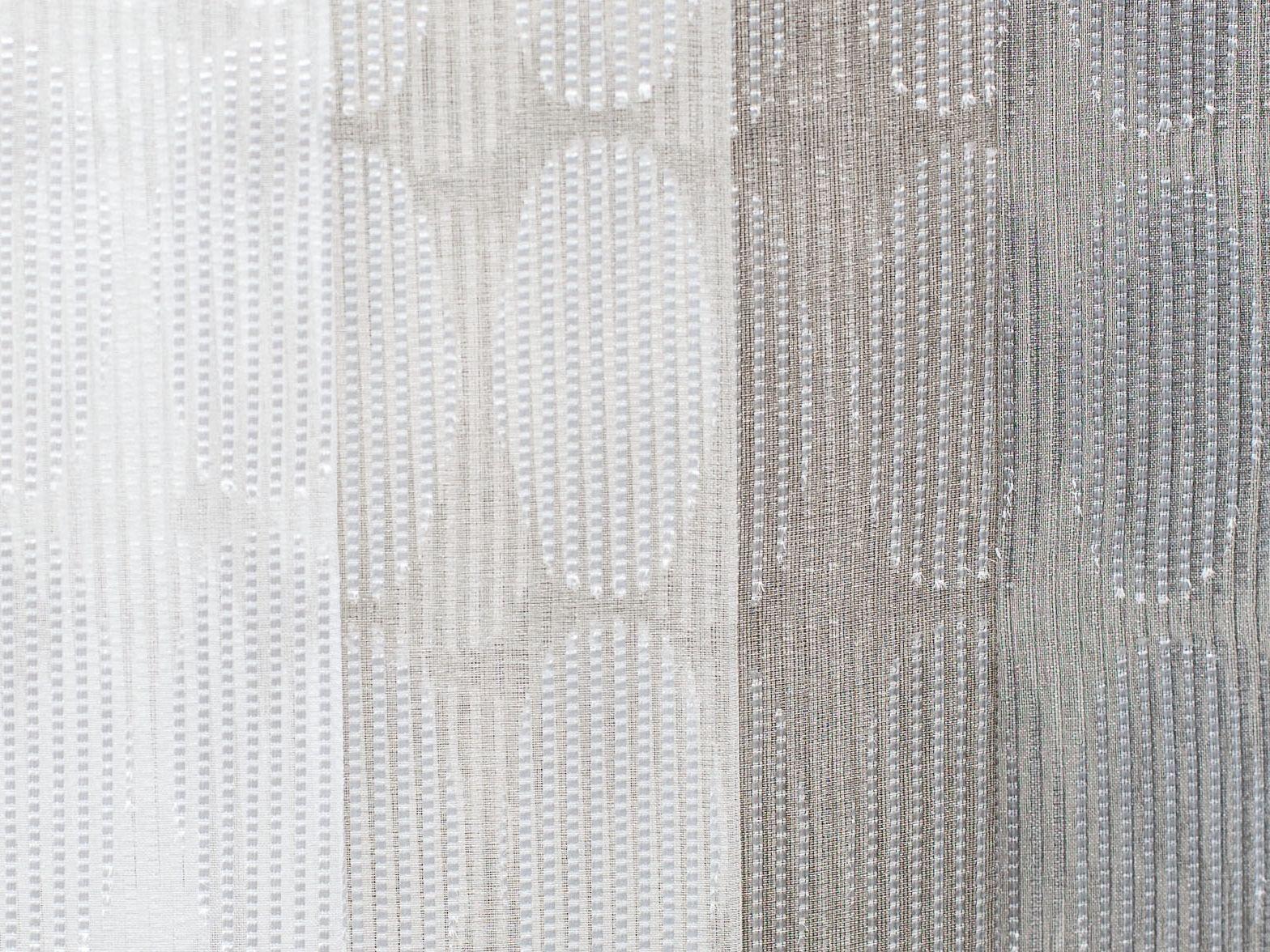 Tejido con motivos gr ficos para cortinas nerea by equipo drt - Tejidos de cortinas ...
