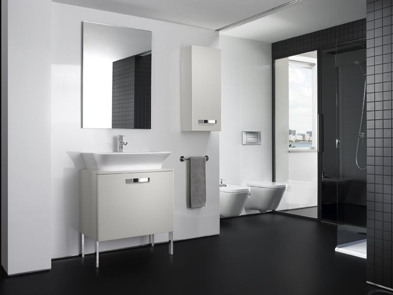 THE GAP Mueble bajo lavabo de pie by ROCA