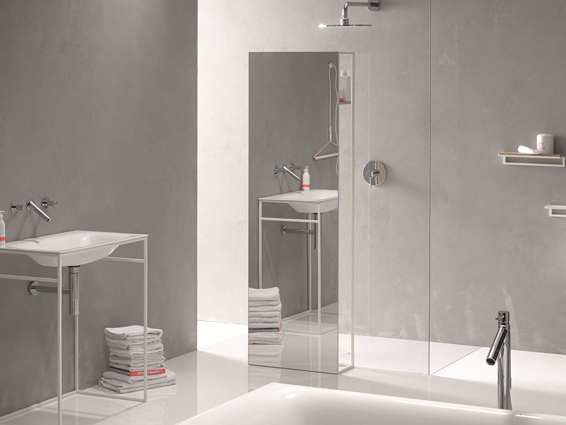 bettelux shape mirror by bette design tesseraux partner