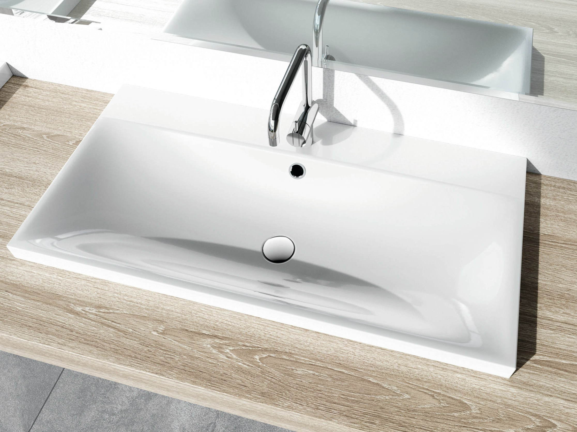 silenio waschbecken by kaldewei italia design anke salomon. Black Bedroom Furniture Sets. Home Design Ideas