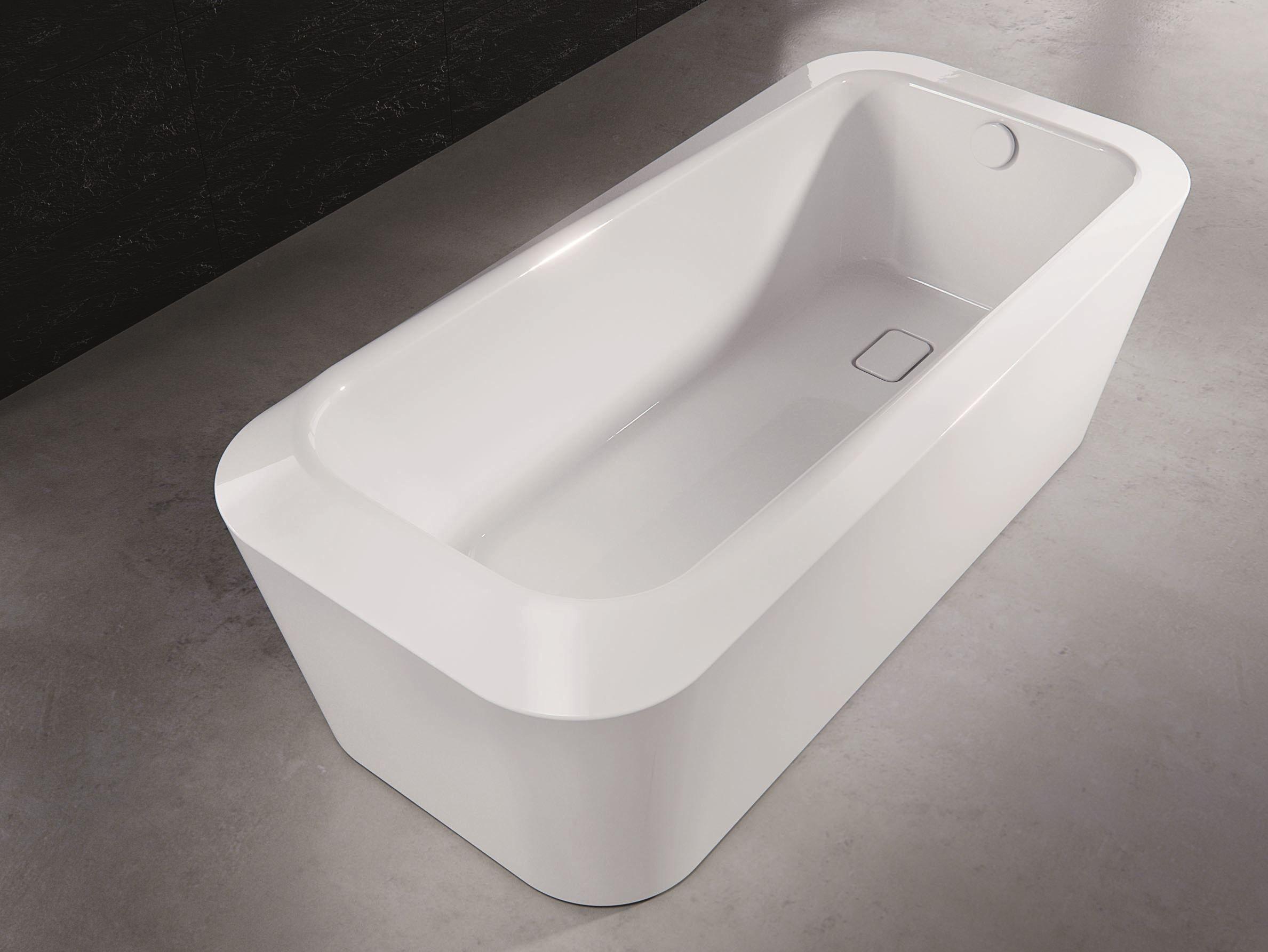 Meisterst ck emerso baignoire by kaldewei italia design arik levy - Baignoire acier emaille ...