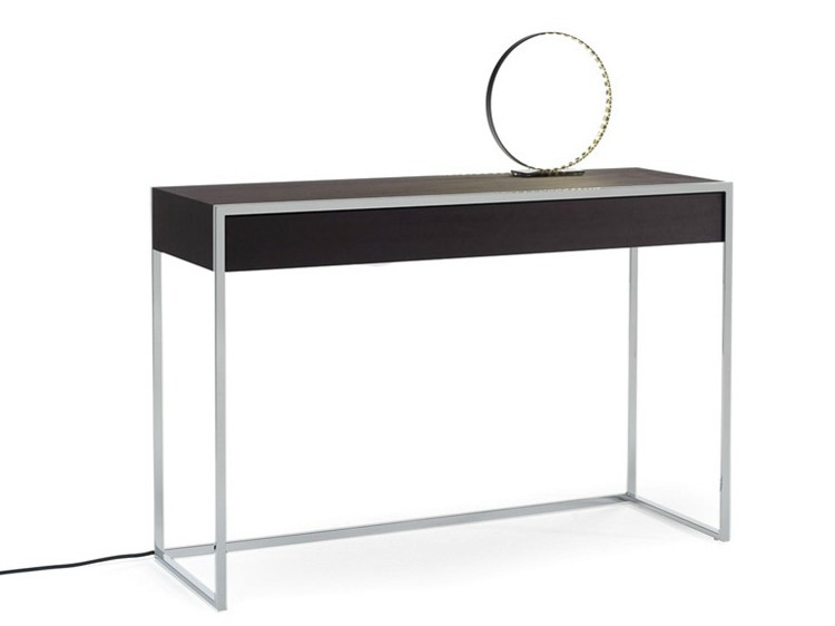 Smart table console by yomei design andr schelbach - Table console avec tiroir ...