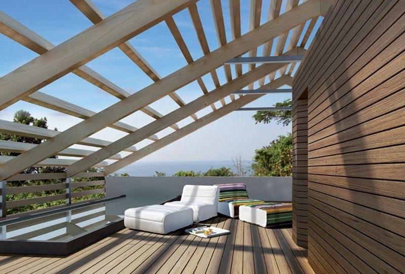 Listoni in legno per pavimenti sopraelevati ip by italfloor - Listoni in legno per esterni ...