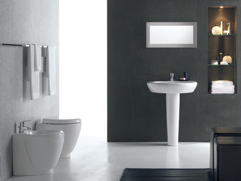 Record Pedestal Washbasin By Roca Design Antonio Bullo