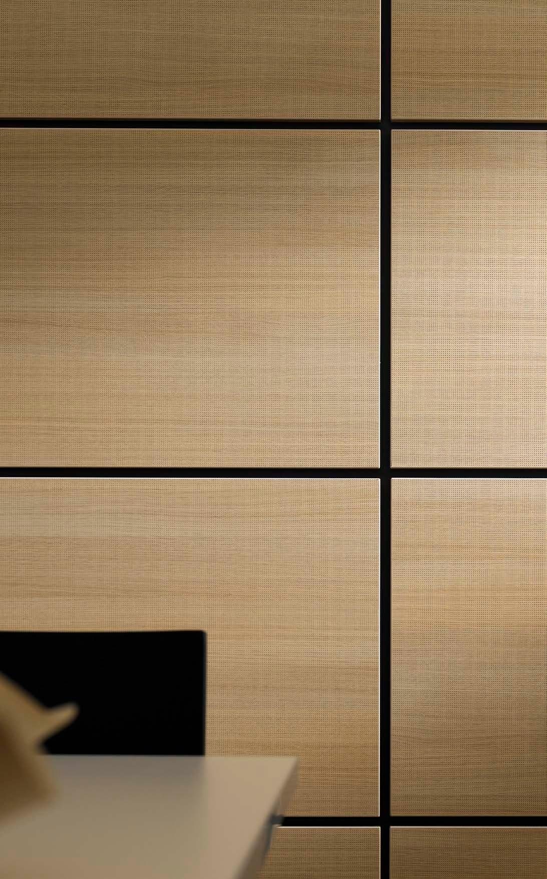 Decorative acoustical panels egger proakustik by legnopan - Decorative acoustic wall panels ...