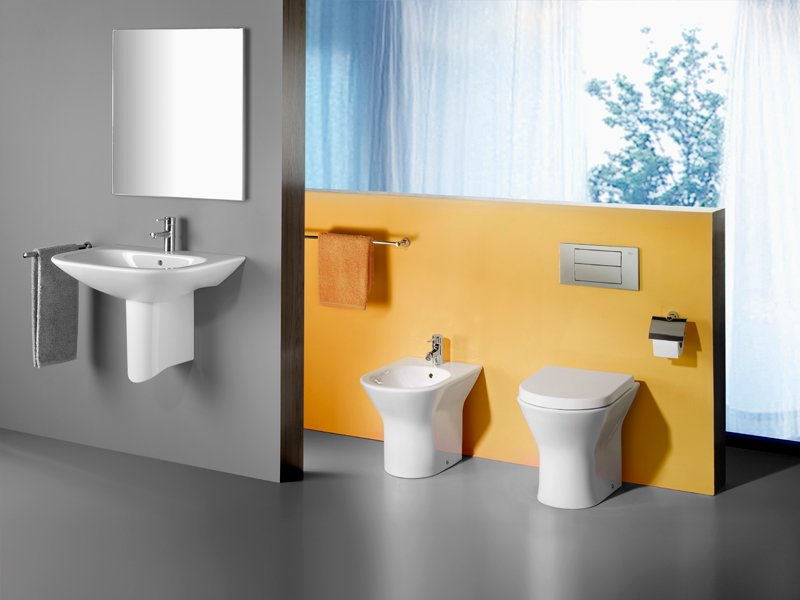 nexo bidet in ceramica by roca sanitario design antonio bullo