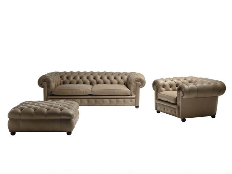 Chester one divano by poltrona frau design renzo frau - Divano chester frau ...