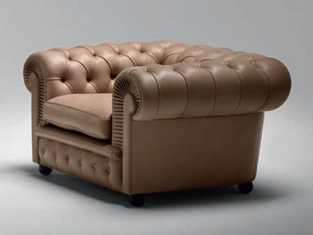 Chester one armchair by poltrona frau design renzo frau for Poltrona chester